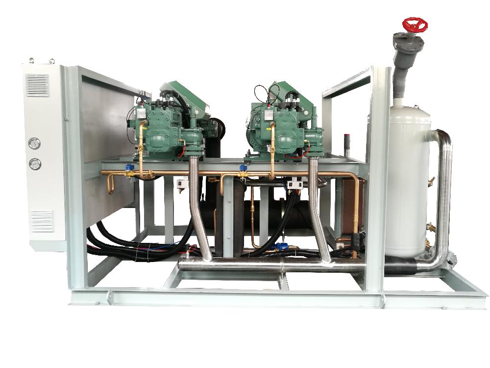 比泽尔螺杆低温速冻制冷机组