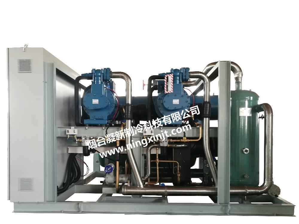 富士豪低温螺杆并联机组2-100P|水冷机组