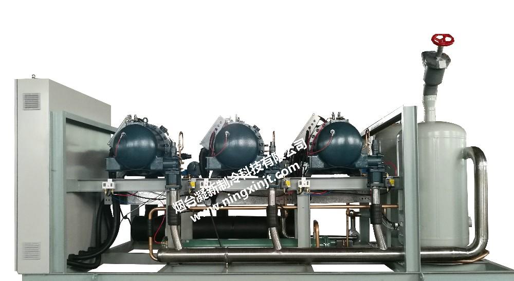 汉钟中温机组3-100P|螺杆并联机组