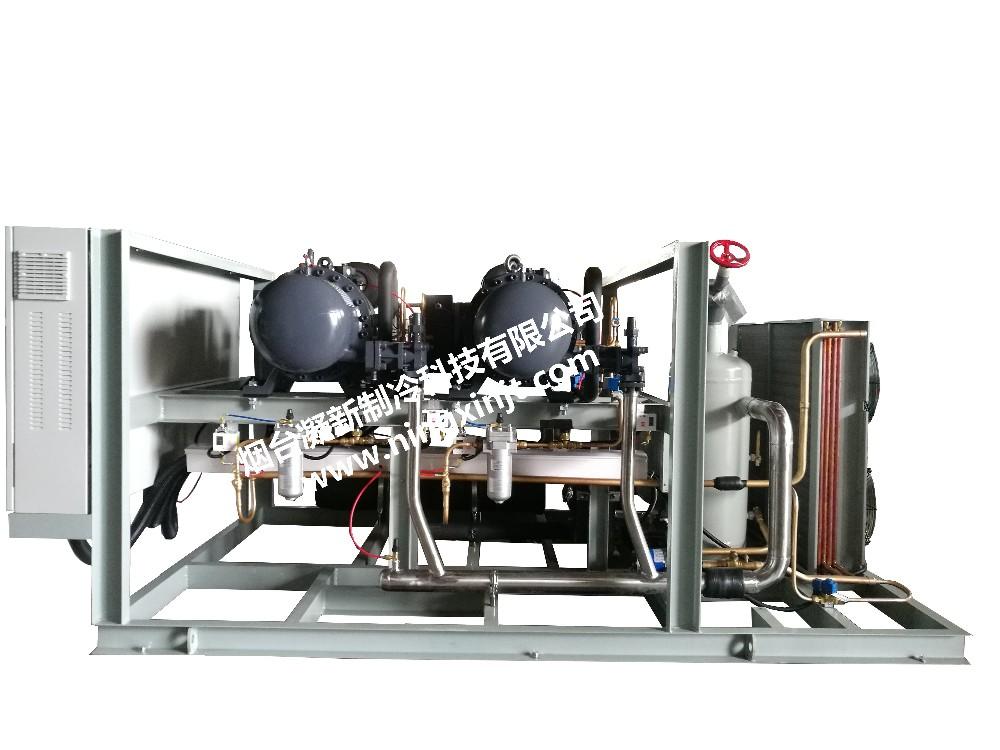 复盛低温螺杆2-50P|螺杆并联机组